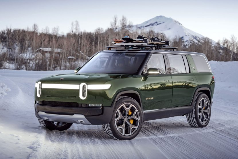 Rivian R1t Truck Electric vehicle